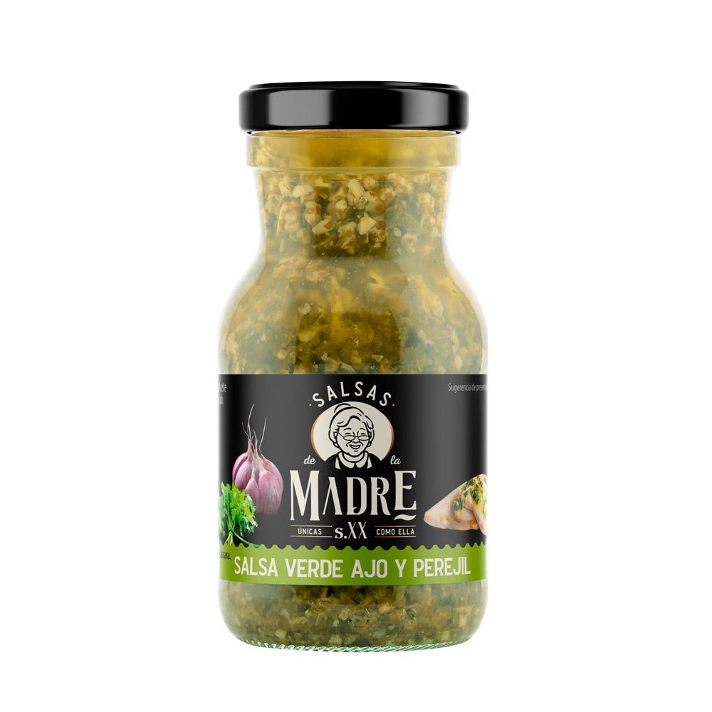 Salsas de la Madre Siglo XX - Salsa Verde de Ajo y Perejil